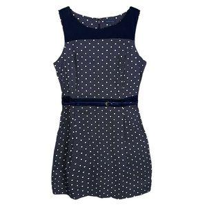 Tommy Hilfiger navy Polka Dot Sleeveless dress 14